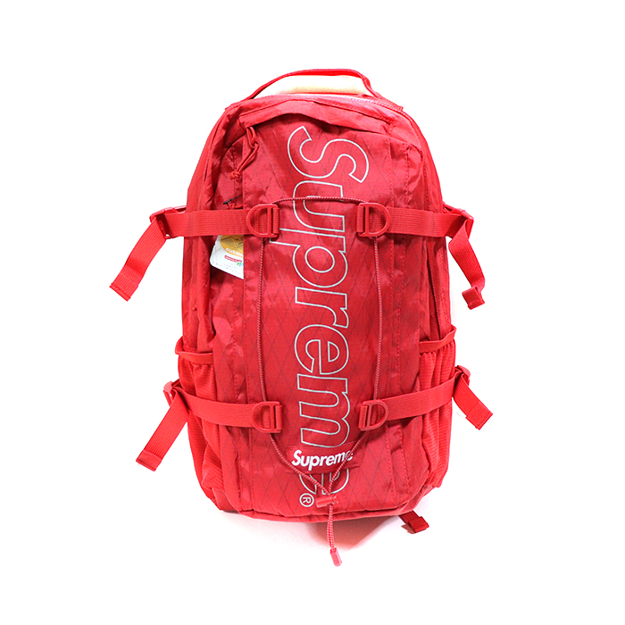 Supreme / シュプリームBackpack / バックパックRed / レッド 赤2018AW 国内正規品 新古品【中古】