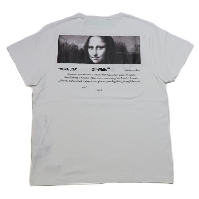 5ac02d25 PALM NUT: OFF-WHITE / off-white 04 MONALISA TEE / Mona Lisa T-shirt WHITE / white  white