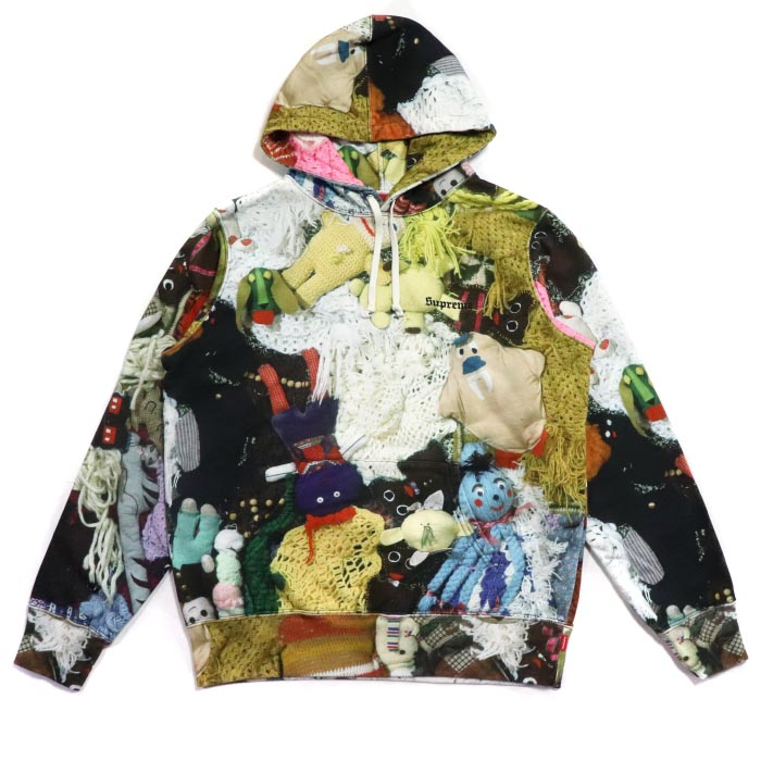 612d66d11cf0 Supreme x Mike Kelley More Love Hours Than Can Ever Be Repaid Hooded  Sweatshirt Multicolor
