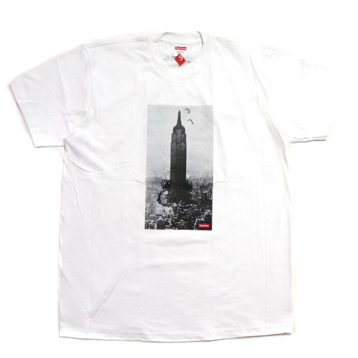 Supreme x Mike Kelley / シュプリーム マイク ケリーThe Empire State Building Tee / エンパイアー ステイト ビルディング TシャツWhite / ホワイト 白2018AW 国内正規品 新古品【中古】