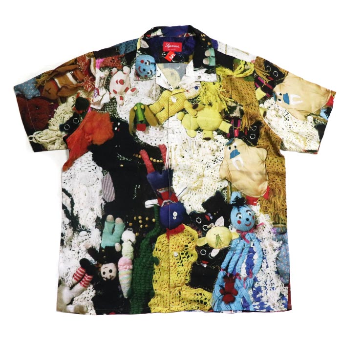 Supreme x Mike Kelley / シュプリーム マイク ケリーMore Love Hours Than Can Ever Be Repaid Rayon Shirt / モア ラブ アワーズ ザン キャン エバー ビー リペイド レーヨン シャツMulticolor / マルチカラー2018AW 国内正規品 新古品【中古】