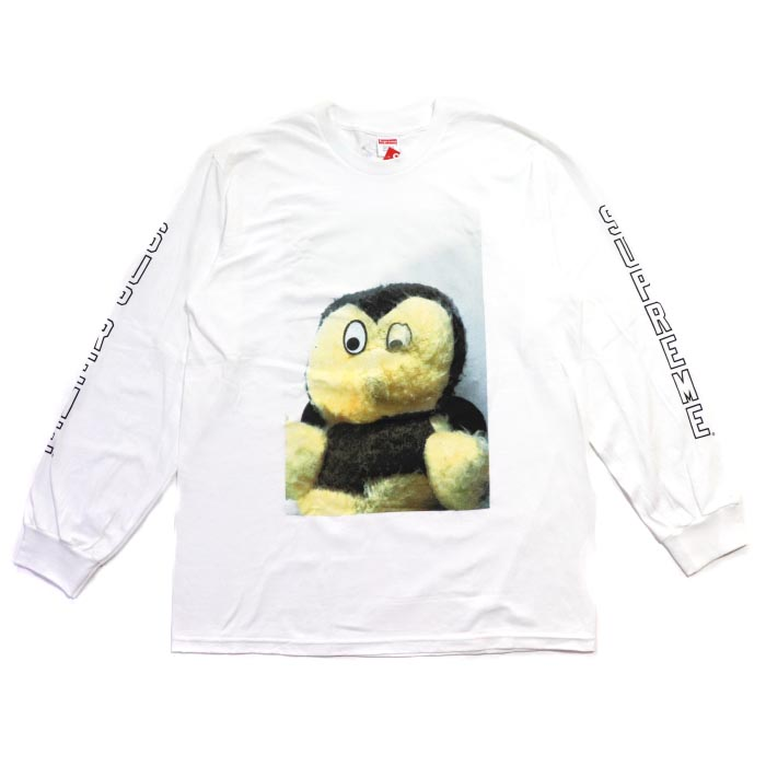 cd3276aacdb 2018AW Supreme x Mike Kelley Ahh ... Youth! L S Tee White