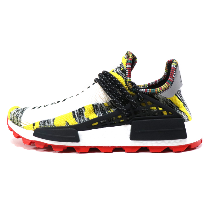 807f2ce93 2018SS domestic regular article. Pharrell Williams X adidas Originals SOLAR HU  NMD SUPCOL  CBLACK  RED  BB9527