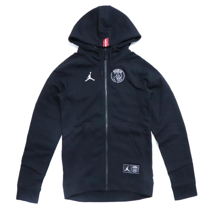 Jordan x PSG Wings Full Zip Hoodie White