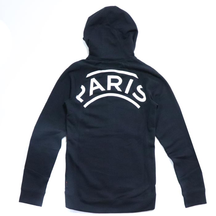 new style 3eff5 75f13 NIKE X Paris Saint-Germain / Nike Paris Saint-Germain AIR JORDAN BCFC / air  Jordan Wings Full Zip Hoodie / ウィングスフルジップフーディパーカー Black / black black ...