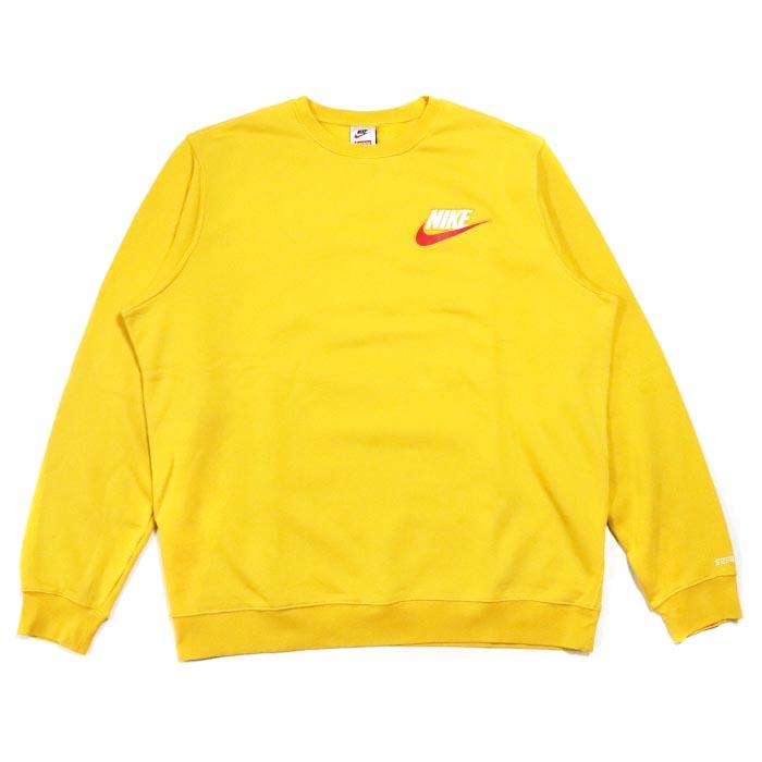 Supreme X Nike Crewneck Mustard