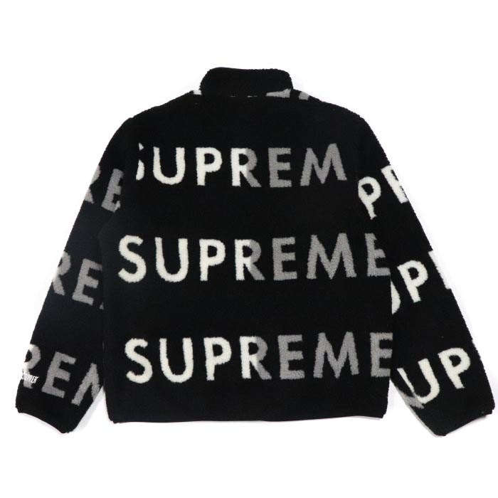 2018aw Supreme Reversible Logo Fleece Jacket