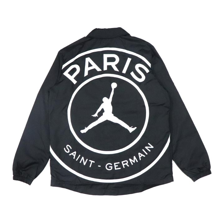 b71d3fe14c2 PALM NUT: NIKE X Paris Saint-Germain / Nike Paris Saint-Germain Coach Jacket  / coach jacket Black / black black PSG 2018AW domestic regular article old  and ...