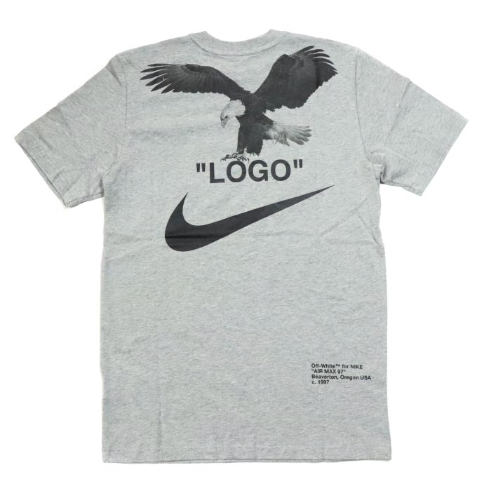 3d262e8f3dc OFF-WHITE VIRGIL ABLOH X NIKE   off-white Virgil horsefly low x Nike M NRG  A6 TEE   T-shirt Grey  gray ash 2018AW domestic regular article old and new  ...