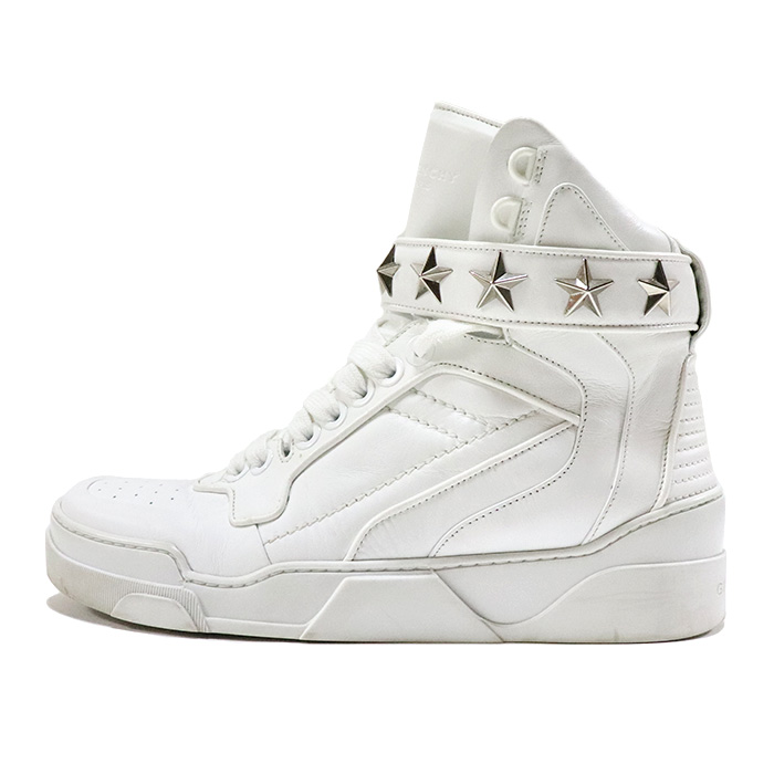 GIVENCHY Givenchy TYSON STARS WH SOLE Tison Stars sole WHITE white white domestic regular article used goods