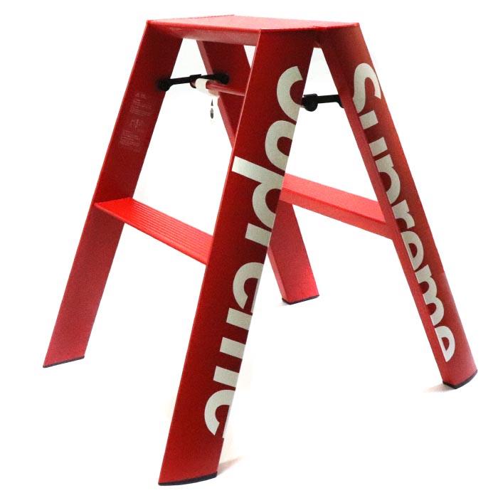 Supreme/ シュプリームStep Ladder/ステップ ラダー 脚立Red / レッド 赤2018AW 国内正規品 新古品【中古】