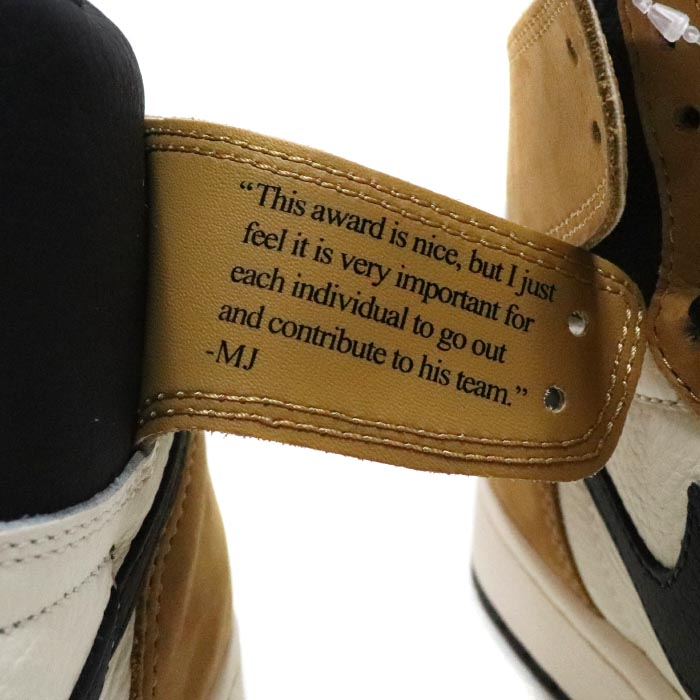 2018 NIKE   Nike AIR JORDAN 1 RETRO HIGH OG WHEAT   Air Jordan 1 レトロハイウィート  Gold Harvest Black  gold her best black domestic regular article old and ... 6631147436de