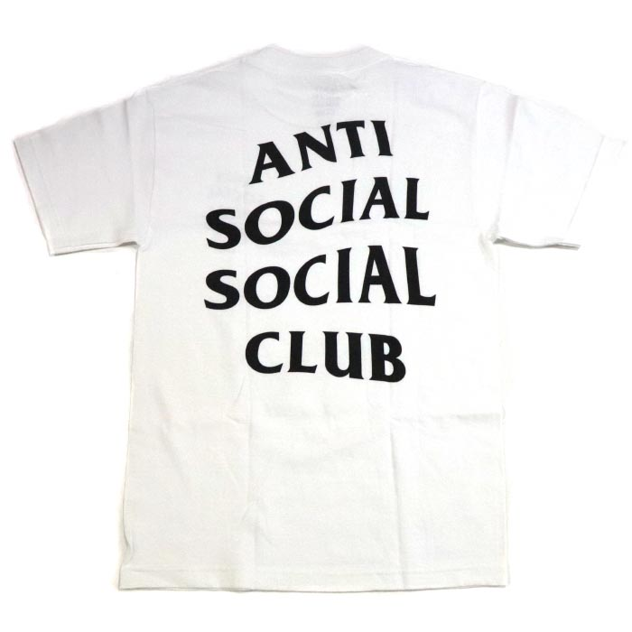 87bd2d9b7c16 ANTI SOCIAL SOCIAL CLUB   antisocial social club LOGO TEE   logo T-shirt  WHITE   white white 2018AW ASSC regular article old and new things product