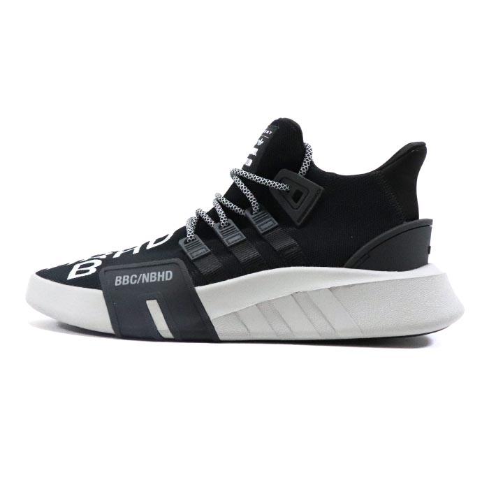 sports shoes 0338a 88e4a NEIGHBORHOOD X BILLIONAIRE BOYS CLUB x adidas Originals / Ney bar Hood  billionaire Boys club X Adidas EQT BASK ADV NBHD BLACK/ black NIGO Pharrell  ...