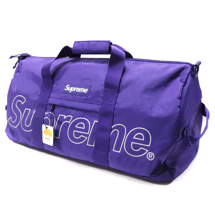 Supreme / シュプリームDuffle Bag / ダッフル バッグPurple / パープル 紫2018AW 国内正規品 新古品【中古】