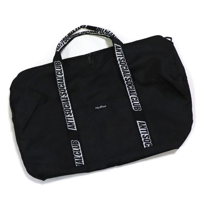 c12fd9a44ae9 Anti Social Social Club   antisocial social club DUFFLE BAG   duffel bag  BLACK   black black regular article 2018AW ASSC old and new things product