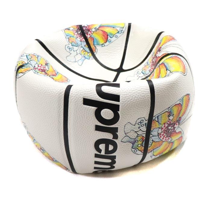 Supreme × Spalding / シュプリーム スポルディングGonz Butterfly Basketball / ゴンズ バタフライ バスケットボールWhite / ホワイト 白2016SS 正規品 新古品【中古】
