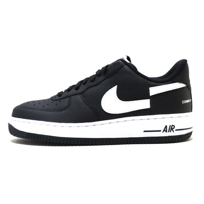 Supreme x NIKE × Comme des Garcons/ シュプリーム ナイキ コムデギャルソンAir Force 1 Low / エアーフォース ワン ローBlack / ブラック 黒【AR7623-001】2018AW 国内正規品 新古品【中古】