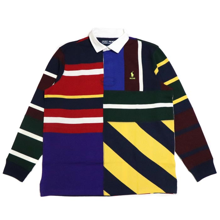 228ba966ce PALACE X POLO RALPH LAUREN   palace polo Ralph Lauren RUGBY SHIRT LONG  SLEEVE   rugby shirt Longus Reeve MULTI   multicolored 2018AW regular  article old and ...
