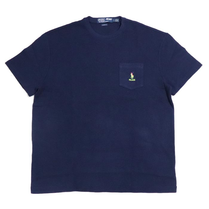 Polo Shirt Dark Short Navy Sleeve Palace Article Regular 2018aw Blue Ralph Pocket T X Lauren 4RLScq53Aj