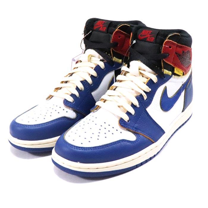 53a81ff4dd1 UNION LOS ANGELES X NIKE / union Los Angeles Nike AIR JORDAN 1 HIGH OG NRG  / Air Jordan 1 high WHITE/STORM BLUE-VARSITY RED-BLACK / ...