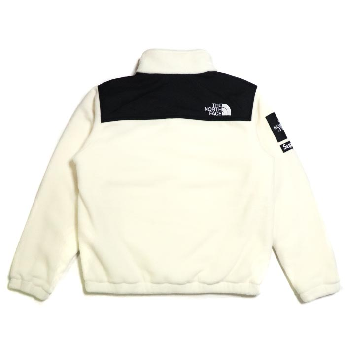 5760dbff8f ... canada supreme x the north face expedition fleece jacket white bb16a  1df86
