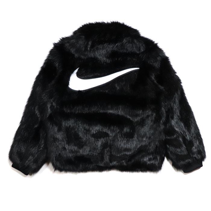 new arrival 47746 dc5a4 PALM NUT  Nike x AMBUSH   Nike Ann Bush Women s Reversible Faux Fur Coat    ウォメンズリバーシブルフェイクファーコート Black   black black 2018AW domestic ...