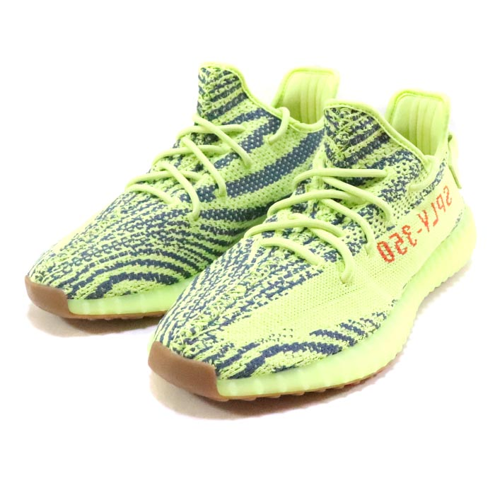 b01014553b8 adidas Originals by KANYE WEST YEEZY BOOST 350 V2 SEMI FROZEN YELLOW SEMI  FROZEN YELLOW RAW STEEL-RED  B37572