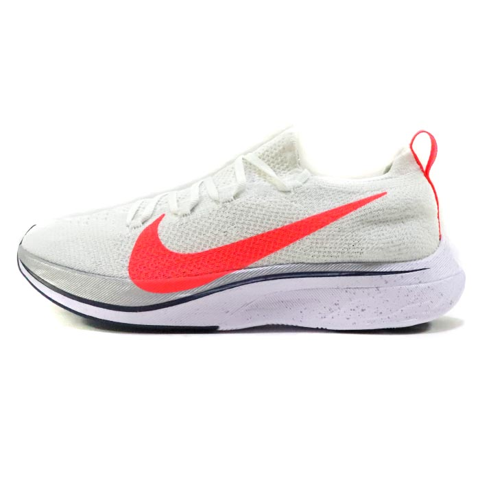 2018 NIKE/ Nike ZOOM VAPORFLY 4% FLYKNIT EKIDEN PACK / zoom vapor fly balls  fly knit Eki den pack White/Flash Crimson / white flash crimson domestic ...