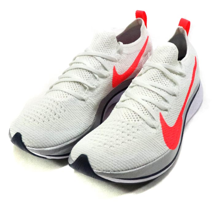 d11a4cd6c656 2018 NIKE ZOOM VAPORFLY 4% FLYKNIT EKIDEN PACK White Flash Crimson   AJ3857-160