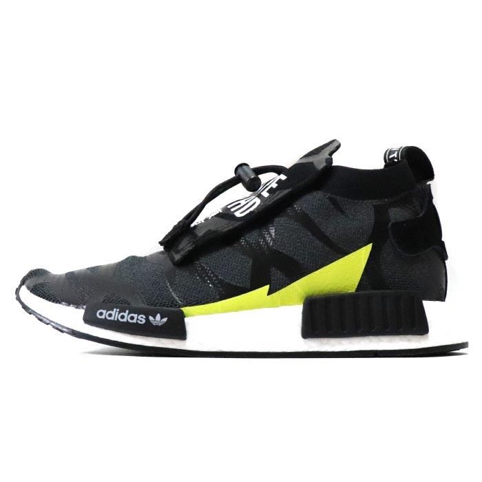 buy online be2d9 233ea BAPE/A BATHING APE X NEIGHBORHOOD x adidas Originals /  ベイプアベイシングエイプネイバーフッドアディダス NHBAPE NMD STLT / N M D BLACK / black black NBHD  2018AW domestic ...