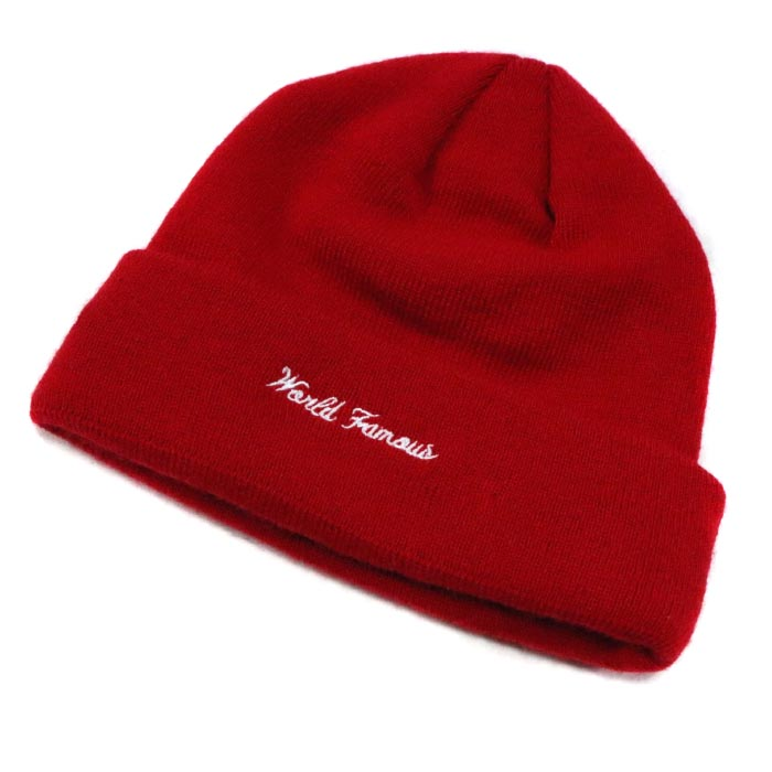 2baf3ae26d433 Supreme x New Era   シュプリームニューエラ Box Logo Beanie   box logo beanie RED   red  red 2017AW domestic regular article beauty used goods