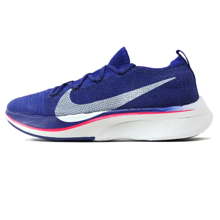 7e27b051e5fd 2019 NIKE ZOOM VAPORFLY 4% FLYKNIT DEEP ROYAL BLUE GHOST AQUA-RED ORBIT   AJ3857-400