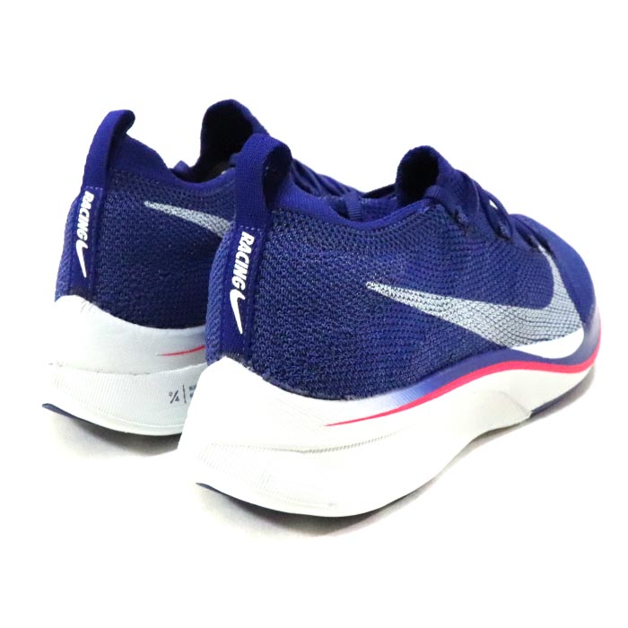 28b4b976adee 2019 NIKE   Nike ZOOM VAPORFLY 4% FLYKNIT   zoom vapor fly balls fly knit  DEEP ROYAL BLUE GHOST AQUA-RED ORBIT   ディープロイヤルブルーゴーストアクアレッド ...