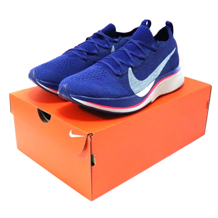 Nike Vaporfly 4 Flyknit Deep Royal BlueGhost Aqua Red Orbit