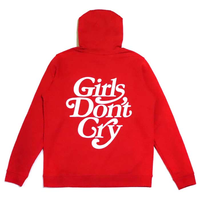 Girls Don't Cry × NIKE SB /ガールズ ドント クライ ナイキ エスビーHOODY / フーディー パーカーRED / レッド 赤Girls Dont Cry VERDY2019SS 国内正規品 新古品【中古】