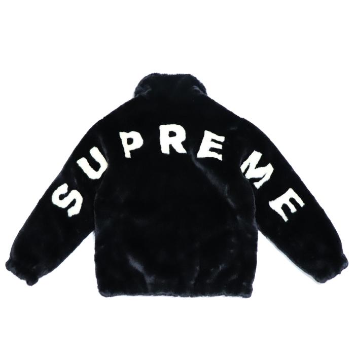 Supreme / シュプリームFaux Fur Bomber Jacket / フォウ ファー ボンバー ジャケットBlack / ブラック 黒2017SS 国内正規品 新古品【中古】