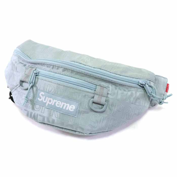 Supreme / シュプリームWaist Bag / ウェストバッグLight Blue / ライトブルー 水色2019SS 国内正規品 新古品【中古】