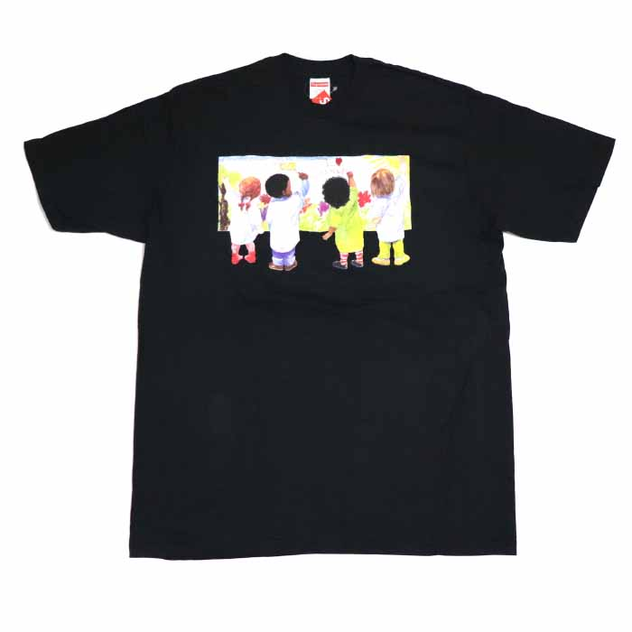 Supreme / シュプリームKids Tee/ キッズ TシャツBlack / ブラック 黒2019SS 国内正規品 新古品【中古】