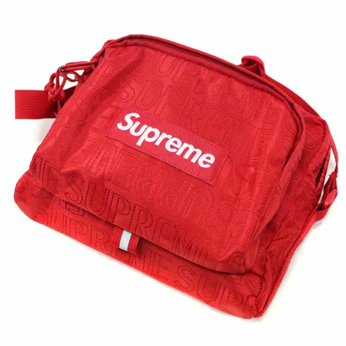 Supreme / シュプリームShoulder Bag / ショルダーバッグRed / レッド 赤2019SS 国内正規品 新古品【中古】