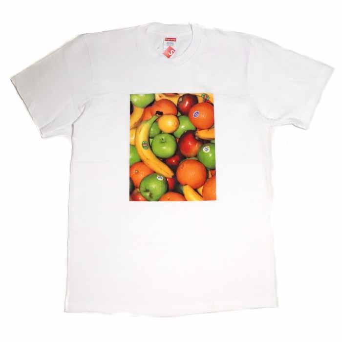 Supreme / シュプリームFruit Tee/ フルーツ TシャツWhite / ホワイト 白2019SS 国内正規品 新古品【中古】
