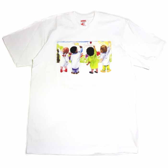 Supreme / シュプリームKids Tee/ キッズ TシャツWhite / ホワイト 白2019SS 国内正規品 新古品【中古】