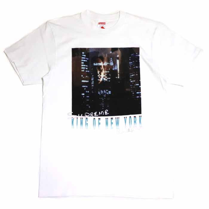 85863bc0389d PALM NUT: Supreme / シュプリーム Christopher Walken King Of New York Tee /  クリストファーウォークンキングオブニューヨーク T-shirt White / white white 2019SS ...