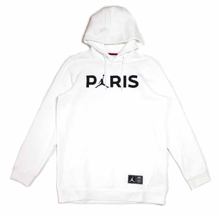 NIKE X PSG Paris Saint Germain Nike Paris Saint Germain Jumpman Pullover Hoodie ジャンプマンプルオーバーフーディパーカー White white white Air Jordan 2019SS regular