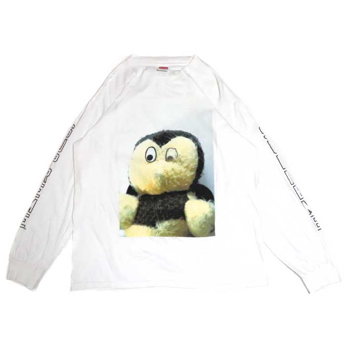 Supreme x Mike Kelley / シュプリーム マイク ケリーAhh... Youth! L/S Tee / ユース ロングスリーブ TシャツWhite / ホワイト 白2018AW 国内正規品 美中古品【中古】