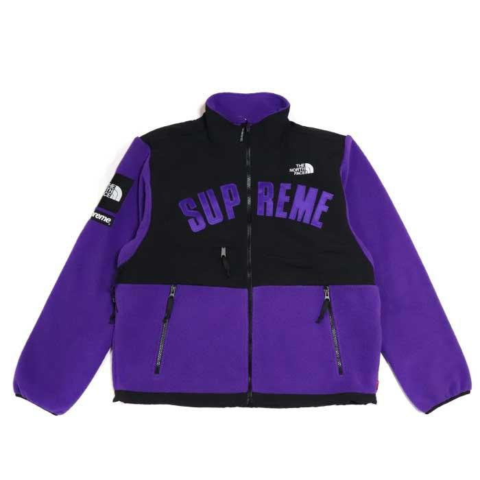Supreme × The North Face /シュプリーム × ザ ノース フェイスArc Logo Denali Fleece Jacket /アーチロゴ デナリ フリース ジャケットPurple / パープル 紫【NA11903I】TNF 2019SS 国内正規品新古品【中古】