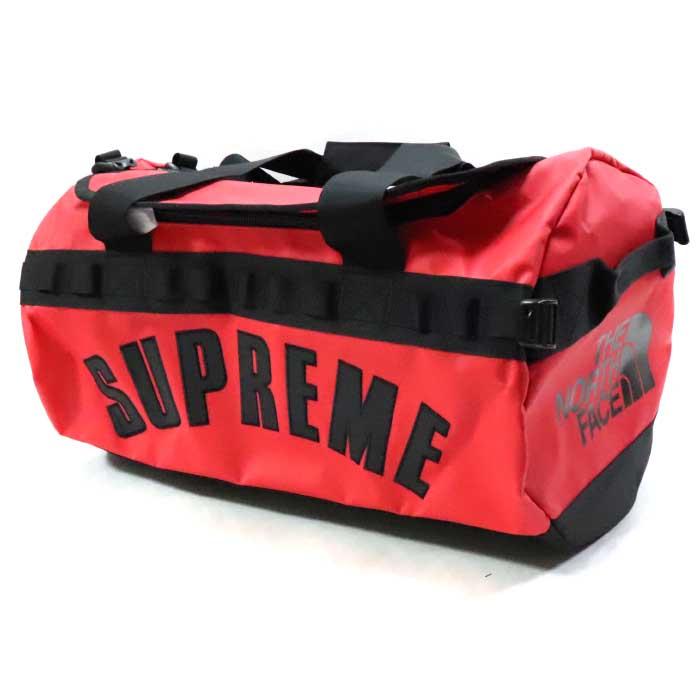 Supreme × The North Face /シュプリーム × ザ ノース フェイスArc Logo Small Base Camp Duffle Bag /アーチロゴ スモール ベースキャンプ ダッフル バッグ ボストンバッグRed / レッド 赤【NM81946I】2019SS 国内正規品 新古品【中古】