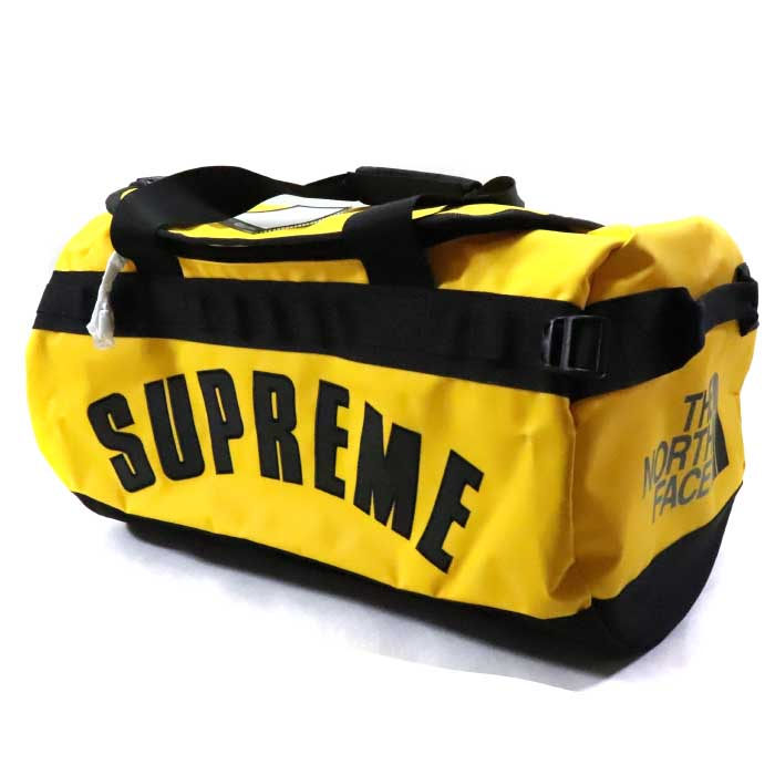 Supreme × The North Face /シュプリーム × ザ ノース フェイスArc Logo Small Base Camp Duffle Bag /アーチロゴ スモール ベースキャンプ ダッフル バッグ ボストンバッグYellow / イエロー 黄【NM81946I】2019SS 国内正規品 新古品【中古】