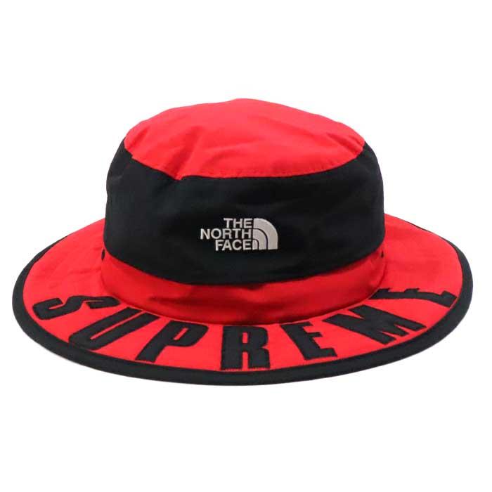 Supreme × The North Face /シュプリーム × ザ ノース フェイスArc Logo Horizon Breeze Hat /アーチロゴ ホリゾン ブリーズ ハットRed / レッド 赤【NM01904I】TNF 2019SS 国内正規品 新古品【中古】