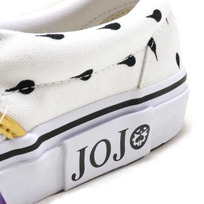 Strange adventure golden wind V98 JOJO SLIP ON / slip-ons WHITE / ホワイトブローノ  ブチャラティ 2019 country regular article old and new things product of VANS X